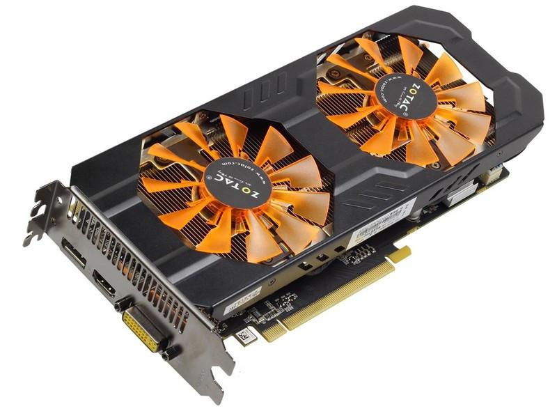 Zotac   GeForce GTX760  2Gb DDR5 Б/У   Полностью рабочая!