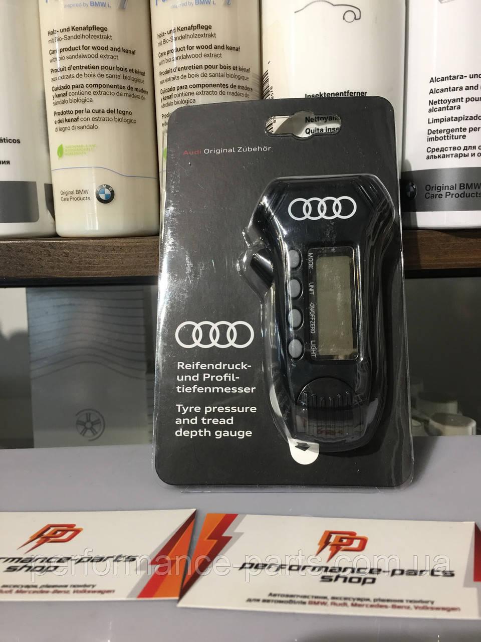 Цифровой прибор для проверки давления в шинах, глубины протектора и светодиодная подсветка.8W0093107. Оригинал