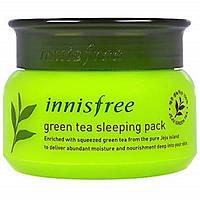 Ночная маска с экстрактом зеленого чая INNISFREE New Green Tea Sleeping Mask