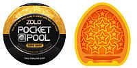 Zolo Pocket Pool Sure Shot - кишеньковий мастурбатор з унікальним рельєфом