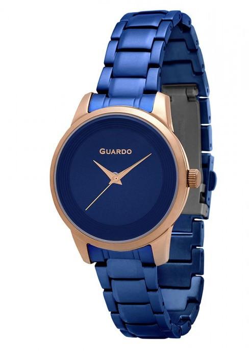 Жіночі наручні годинники Guardo P11466(m) Rg3BlBl