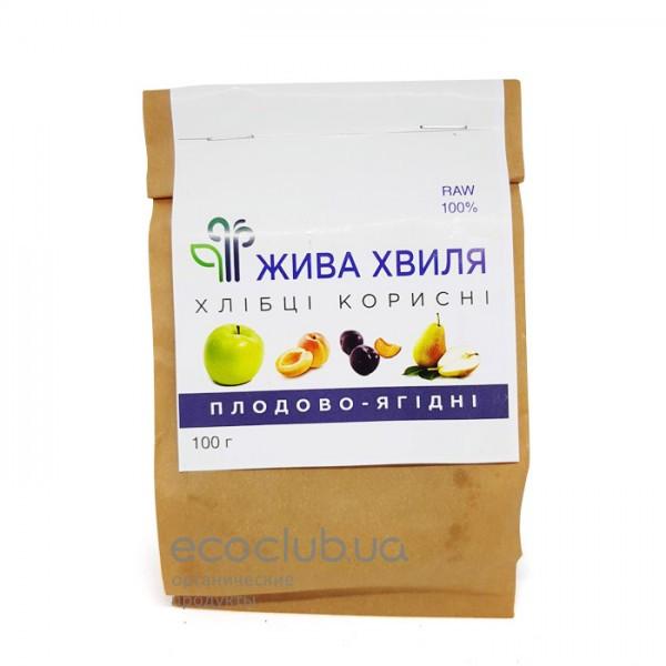 Хлебцы плодово-ягодные Живая волна 100г