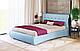Ліжко двоспальне у м'якій оббивці Олівія / Кровать двуспальная в мягкой обивке Оливия, фото 8