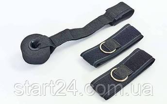 Набор для эспандера: 2лямки + дверное крепление FI-6431, фото 2