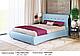Ліжко двоспальне у м'якій оббивці Олівія / Кровать двуспальная в мягкой обивке Оливия, фото 6
