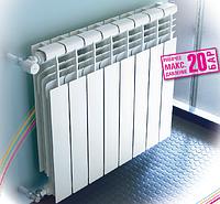 Радиаторы алюминиевые Baxi Condal Plus 20 бар