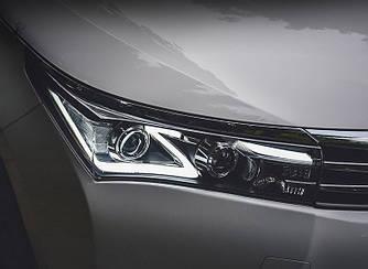 Передние фары Led оптика Toyota Corolla E170 (12-16) стиль 1