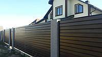 Забор из сайдинга, фото 1