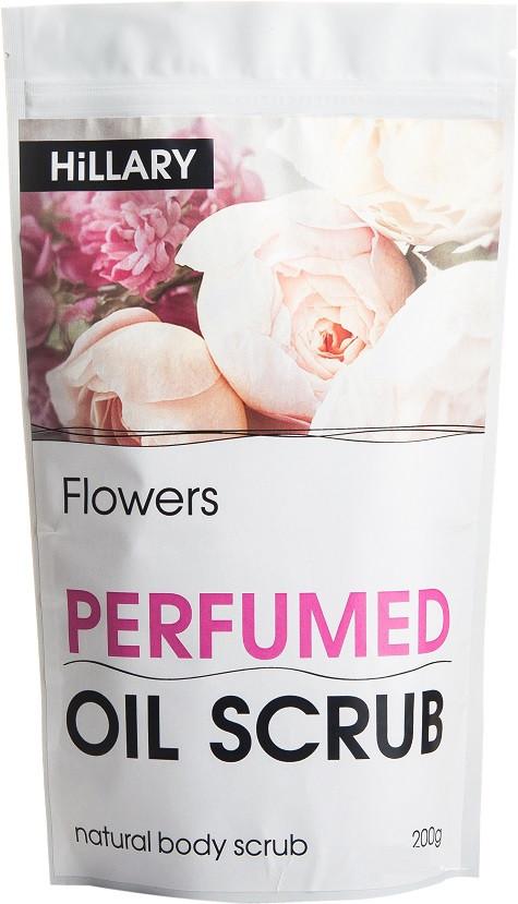 Скраб для тела Hillary Flowers Perfumed Oil Scrub 200 гр
