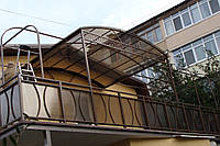 Навесы металлические. Изготовление навесов в Севастополе и Ялте.