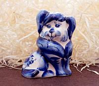 9380372 Фигурка керамическая Собака Красуня