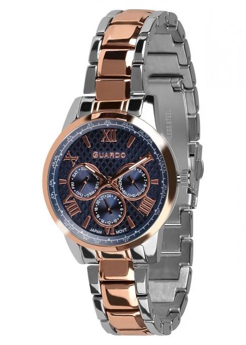 Жіночі наручні годинники Guardo P11466(m) RgsBl