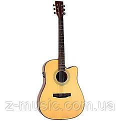 Электроакустическая гитара TYMA HDC-100 NS