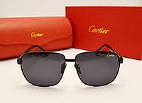 Мужские солнцезащитные очки Cartier 0802 черный цвет
