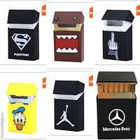 Силиконовый чехол для сигарет, Модный Портсигар, силиконовый портсигар
