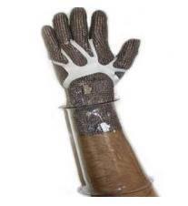 Поликарбонатный прозрачный нарукавник для защиты рук от порезов