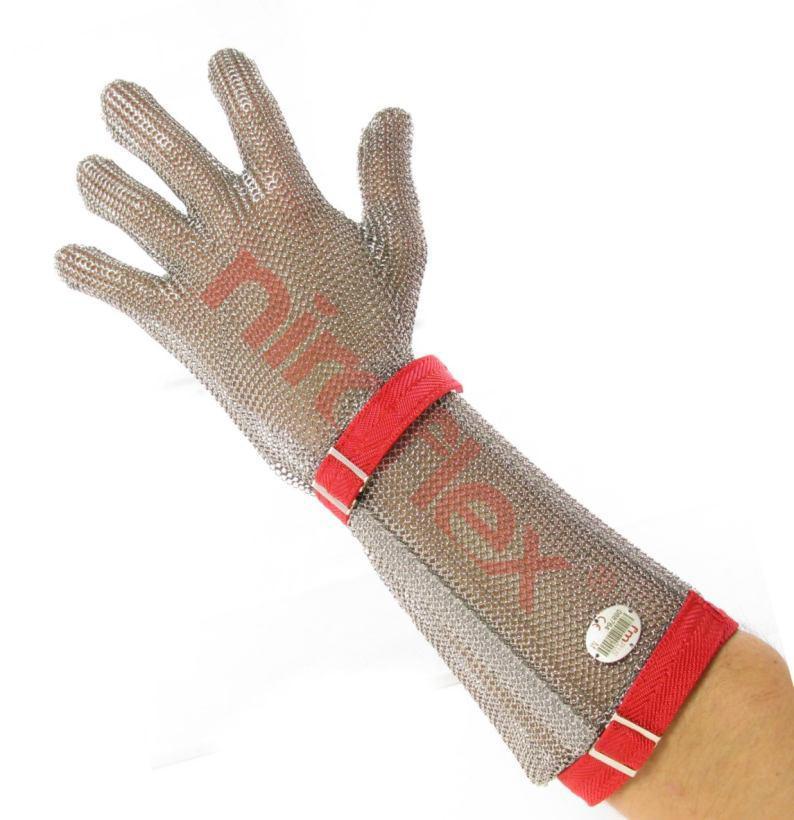 Перчатка 5-палая с отворотом 7,5 см