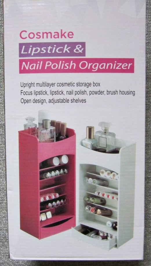 Органайзер для хранения косметики Cosmake Lipstick & Nail Polish Organizer