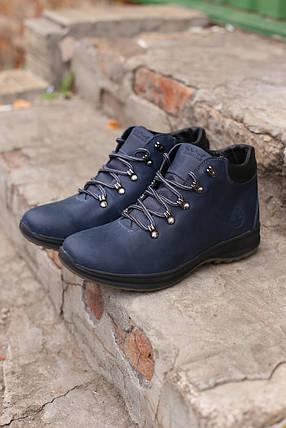 Мужские кожаные зимние ботинки Timberland, фото 2