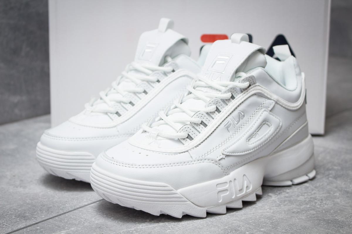 Кроссовки женские  Fila Disruptor II White, белые (14412),  [  39 (последняя пара)  ]