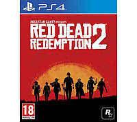 Диск PS4 Red Dead Redemption 2, фото 1