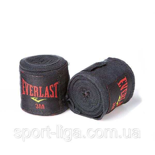 Бинт боксерский 3 м, Everlast