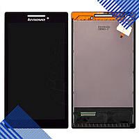 Дисплей Lenovo A7-10 Tab 2, A7-20F с тачскрином в сборе, цвет черный
