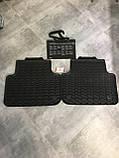 Коврики салона резиновые задние Audi Q8 2019. 4M1061512041. Оригинал., фото 4