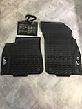 Коврики салона резиновые передние Audi Q8 2019-. 4M8061501041. Оригинал., фото 3