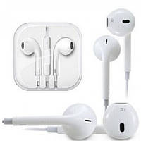 Наушники  айфон Iphone 5 Style White
