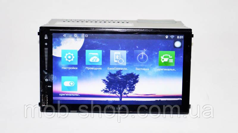 "Автомагнитола пионер Pioneer FY6521 1din Android 7""GPS+WiFi 1/16 Гб"