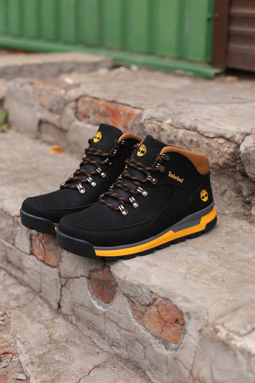 Мужские  зимние ботинки Timberland winter  sport черные