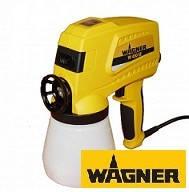 Принцип работы краскопульта WAGNER W450