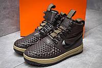 Зимние кроссовки Nike LF1 Duckboot, коричневые (30254) размеры в наличии ► [  44 (последняя пара)  ], фото 1