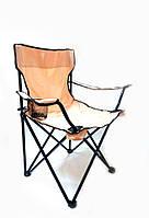 Раскладное кресло паук с подстаканником B15701 оранжевое