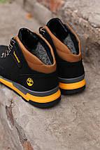 Мужские  зимние ботинки Timberland winter  sport черные, фото 2
