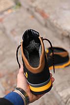 Мужские  зимние ботинки Timberland winter  sport черные, фото 3