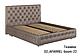 Ліжко двоспальне у м'якій оббивці Арабель / Кровать двуспальная в мягкой обивке Арабель, фото 5