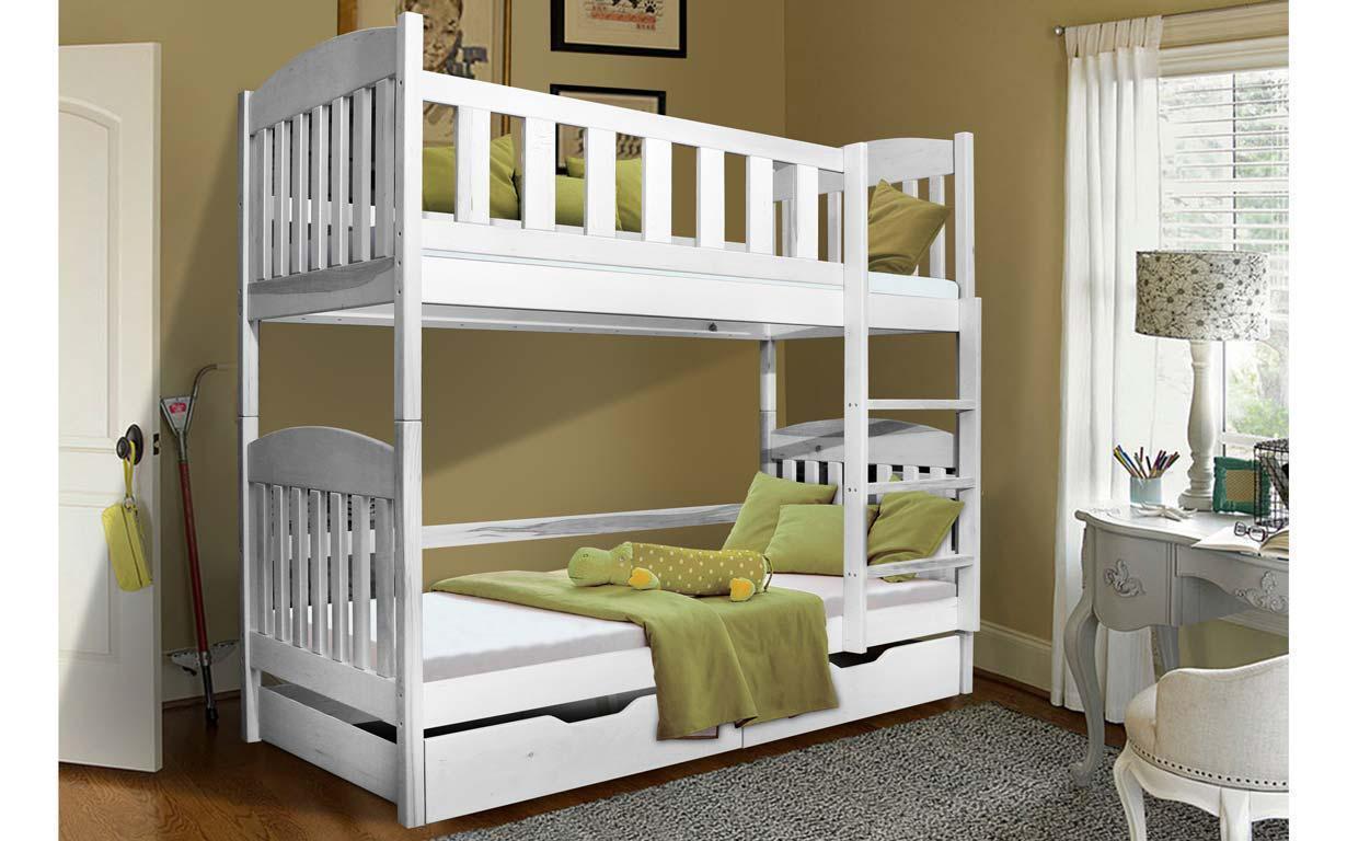 Двухъярусная кровать Моди 80х190 см. Мистер Мебл