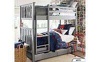Двухъярусная кровать Хетти 80х190 см. Мистер Мебл