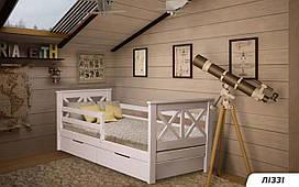 Деревянная детская кровать Лиззи 80х190 см. Мистер Мебл
