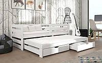 Деревянная детская кровать Летти 80х190 см. Мистер Мебл
