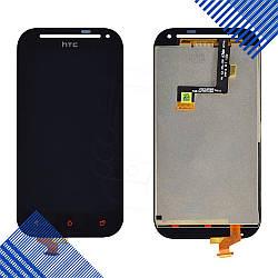 Дисплей HTC One SV C520e (C525e,T528t) с тачскрином в сборе, цвет черный