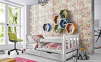 Деревянная детская кровать Холли 80х190 см. Мистер Мебл