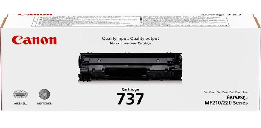 Заправка картриджа Canon 737, фото 2