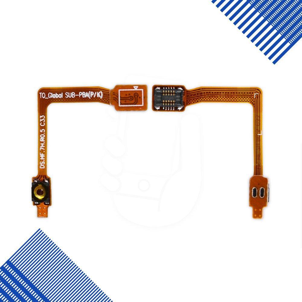 Шлейф Samsung N7100 с кнопкой включения