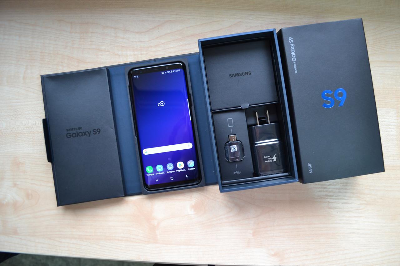 Samsung Galaxy S9 64Gb SM-G960U Black Оригинал!