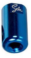 Пеги STOLEN Nano Chromoly д.оси 14мм, 35*20 мм, Dark Blue 1 ШТ