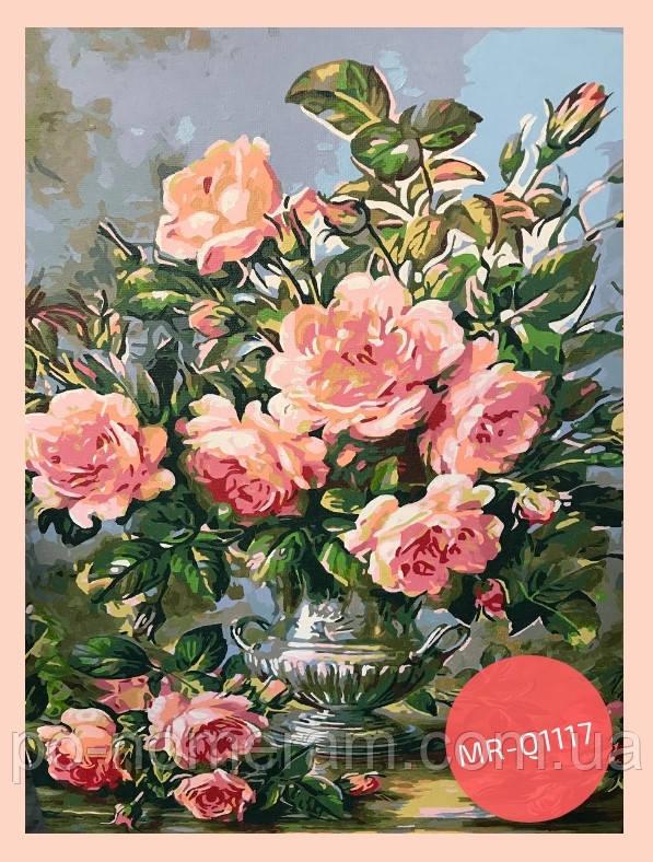 раскраска розы - фото