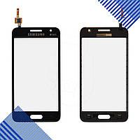 Тачскрин Samsung Galaxy Core 2 G355H, цвет черный, на 2 sim карты, ревизия 3, копия высокого качеств
